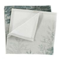 Serviette de table coton imprimé sapin Chalet