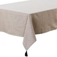 Nappe de table lin et coton imprimée Handira