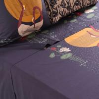 Drap de lit percale de coton Hokkaido