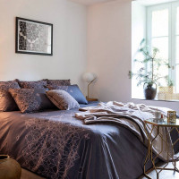 Housse de couette PALAZZO TAUPE