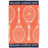 Serviette joueuse Roland Garros 2019 orange