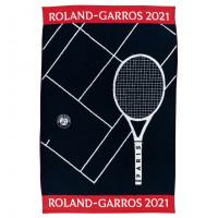 Serviette joueur coton biologique Roland-Garros 2021 marine