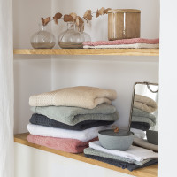 Parure de bain bouclette de coton biologique Source