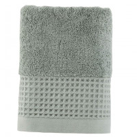 Serviette de toilette bouclette de coton biologique Source lichen