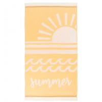 Fouta coton jacquard soleil Summer