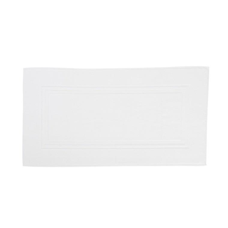 Tapis de bain coton Lola II blanc
