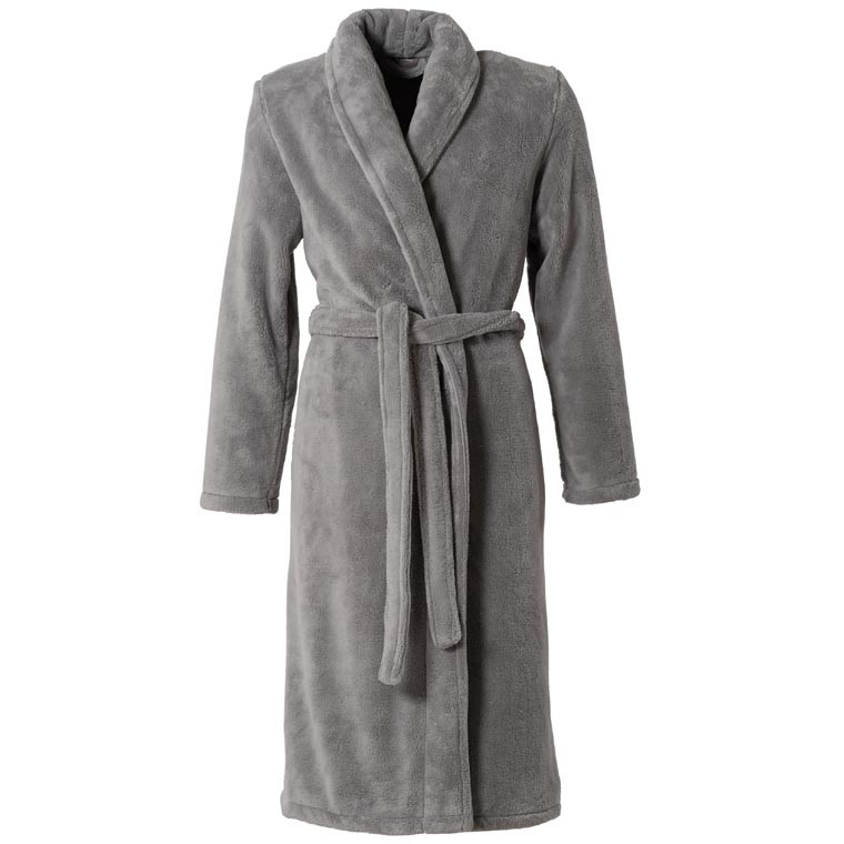 Robe de chambre femme AMAURY GRIS - CARRE BLANC
