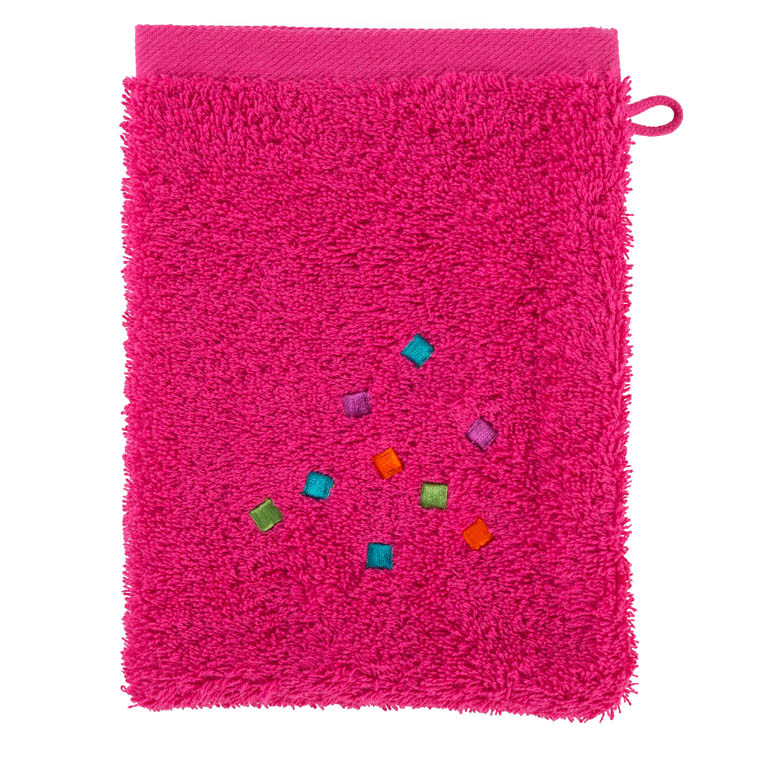 Gant de toilette ARTIFICE FUSCHIA