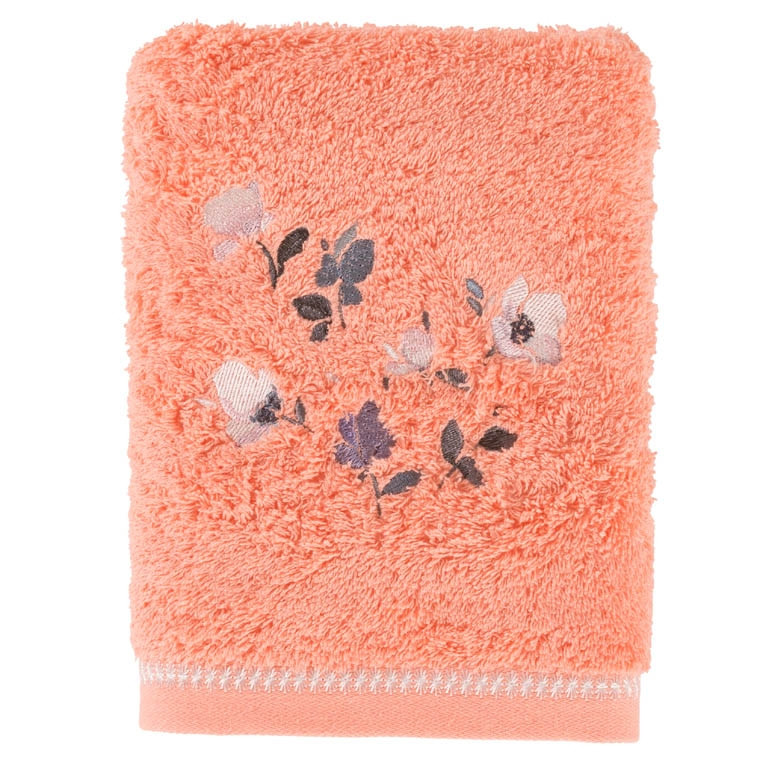 Serviette de toilette ALTHEA CORAIL