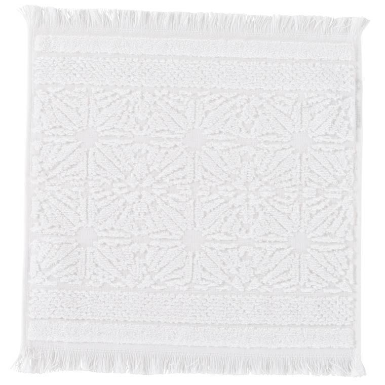 Lavette coton Chiara blanc