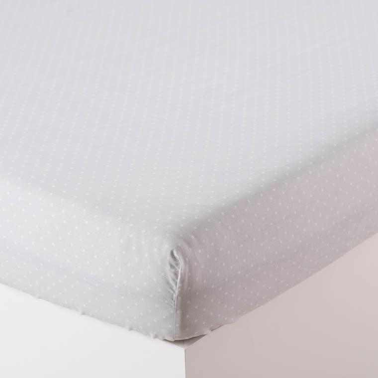 drap housse cleo blanc carre blanc. Black Bedroom Furniture Sets. Home Design Ideas