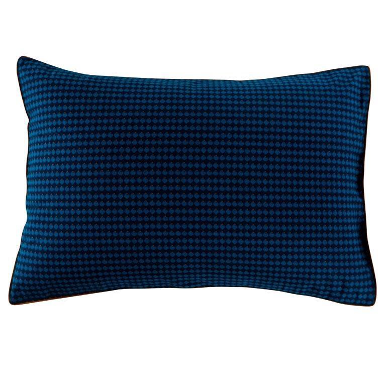 Taie d'oreiller rectangulaire coton imprimé motif géométrique Dandy