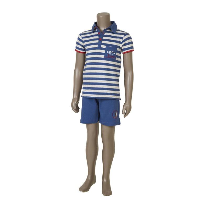 Pyjashort enfant EDDY BLEU