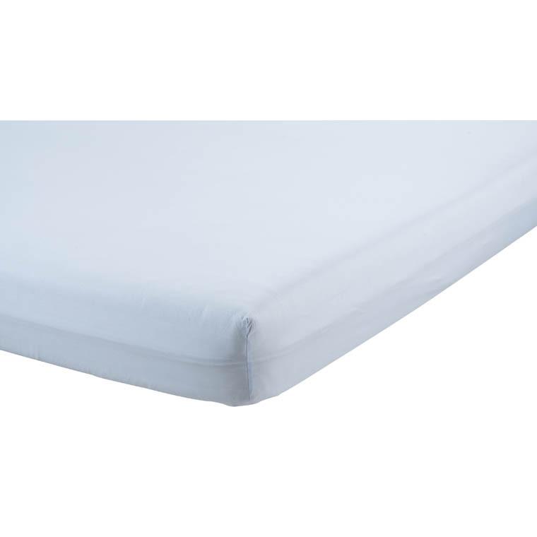 drap housse impact roland garros 2017 ciel carre blanc. Black Bedroom Furniture Sets. Home Design Ideas