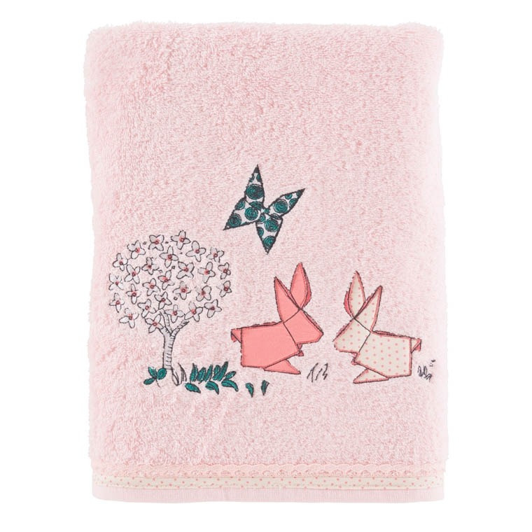 Drap de bain LOUISE ROSE