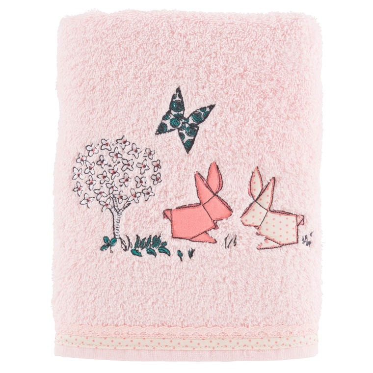 Serviette de toilette LOUISE ROSE