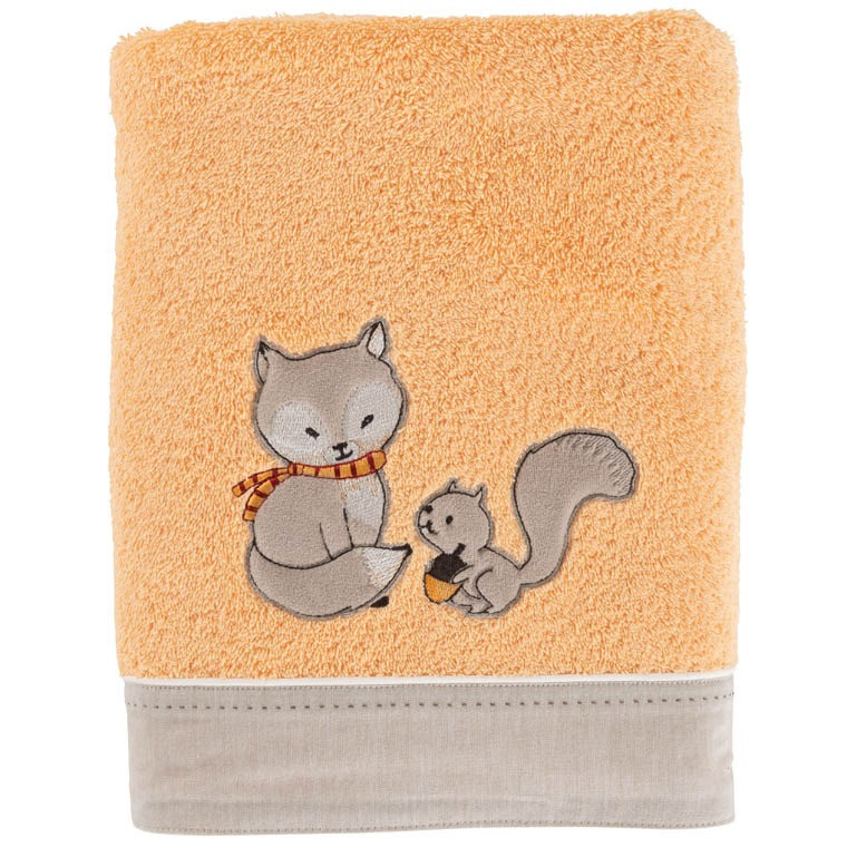 Drap de bain MAXOU ORANGE