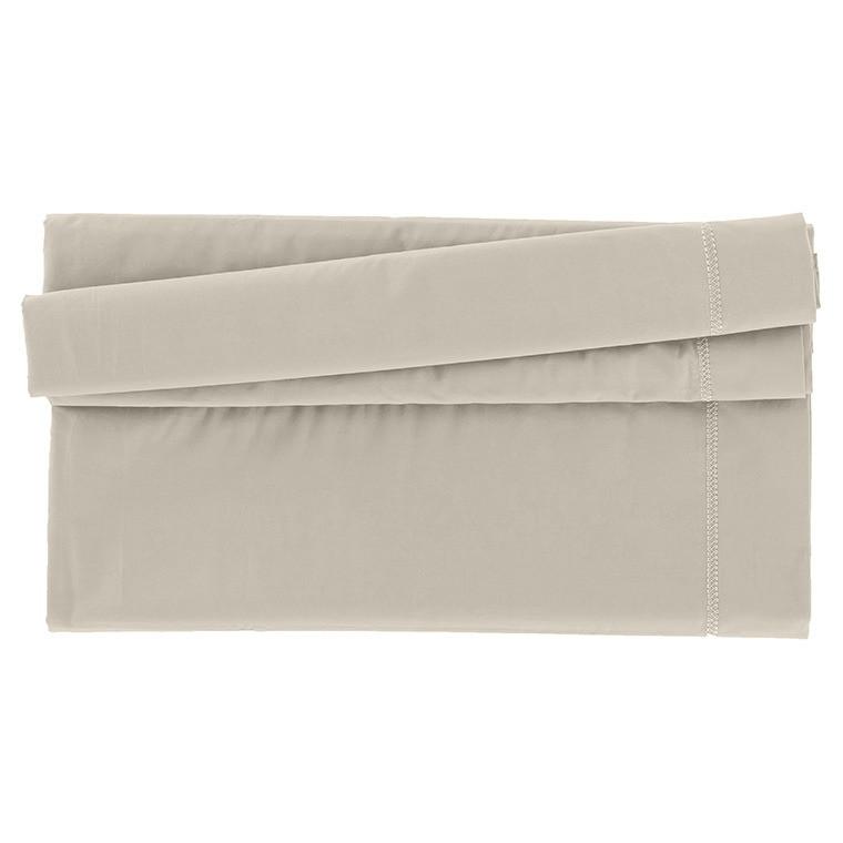 drap de lit mezzo lin carre blanc. Black Bedroom Furniture Sets. Home Design Ideas