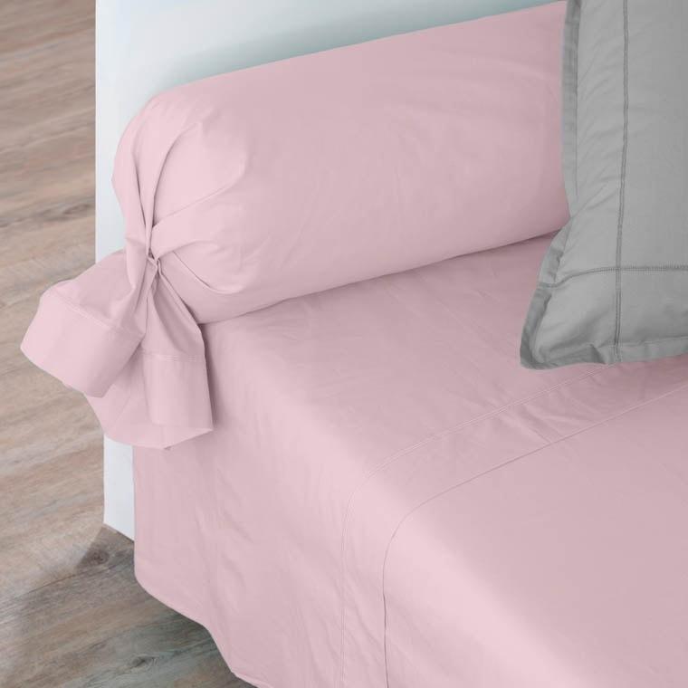 Drap de lit percale de coton Neo poudre