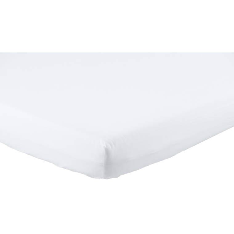 drap housse neo blanc carre blanc. Black Bedroom Furniture Sets. Home Design Ideas