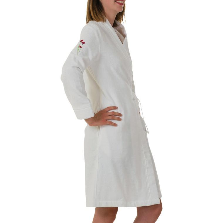Peignoir Femme kimono Blanc