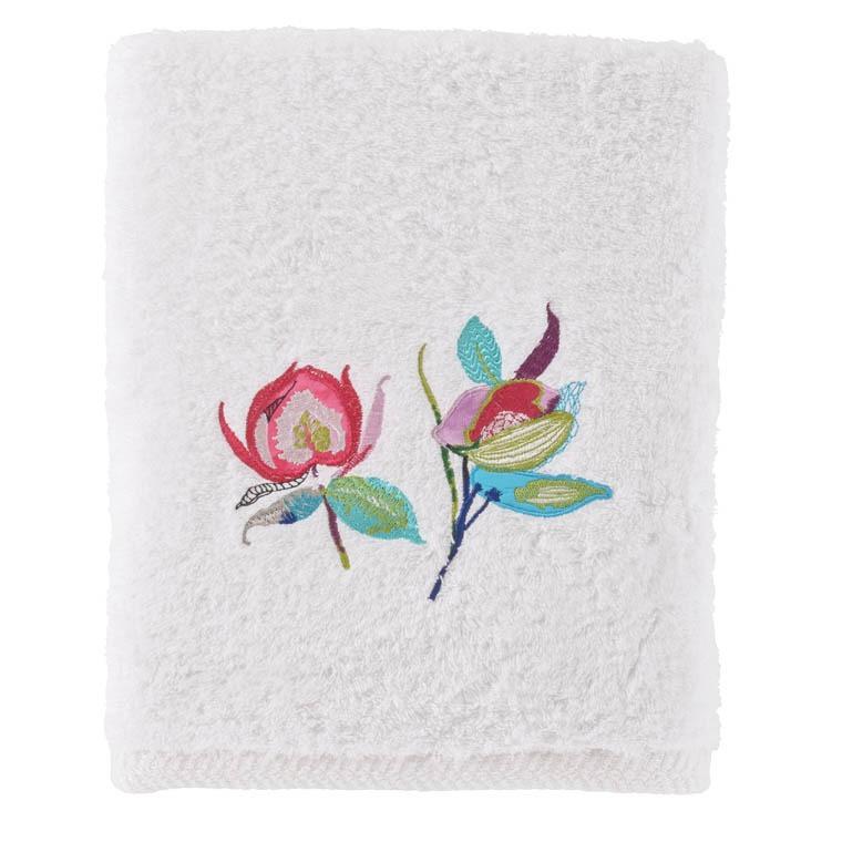parure de bain paraiso parures de bain fantaisie carre blanc. Black Bedroom Furniture Sets. Home Design Ideas