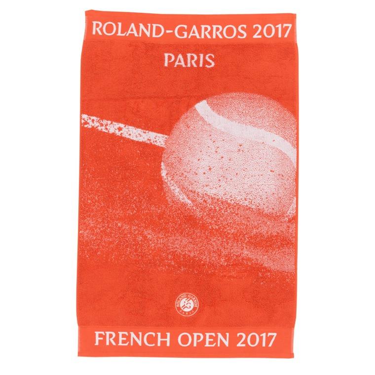 Serviette Joueur Roland Garros 2017 TERRE BATTUE