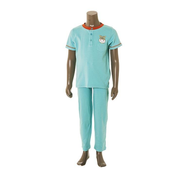 Pyjama SAVANE TURQUOISE