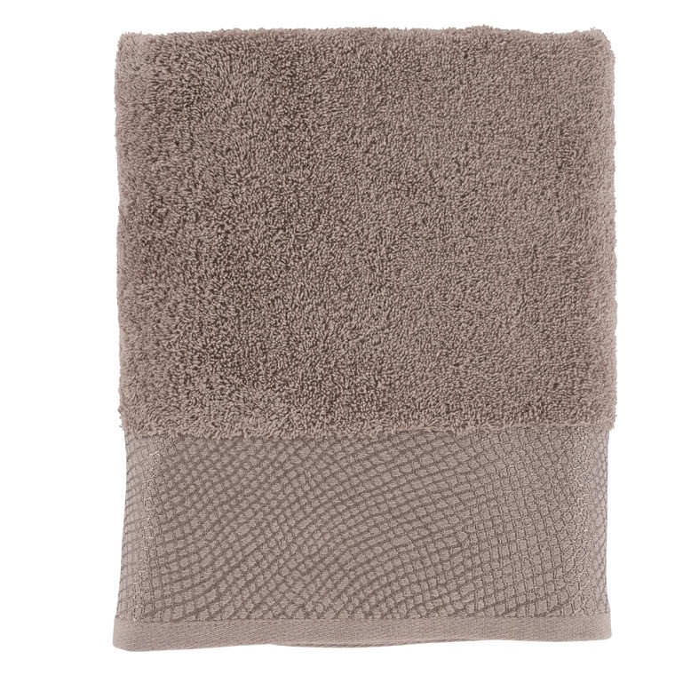 Serviette de toilette SHADOW TAUPE