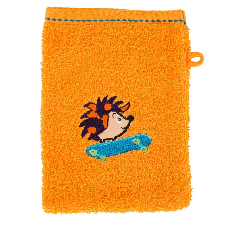 Gant de toilette SIMEON ORANGE