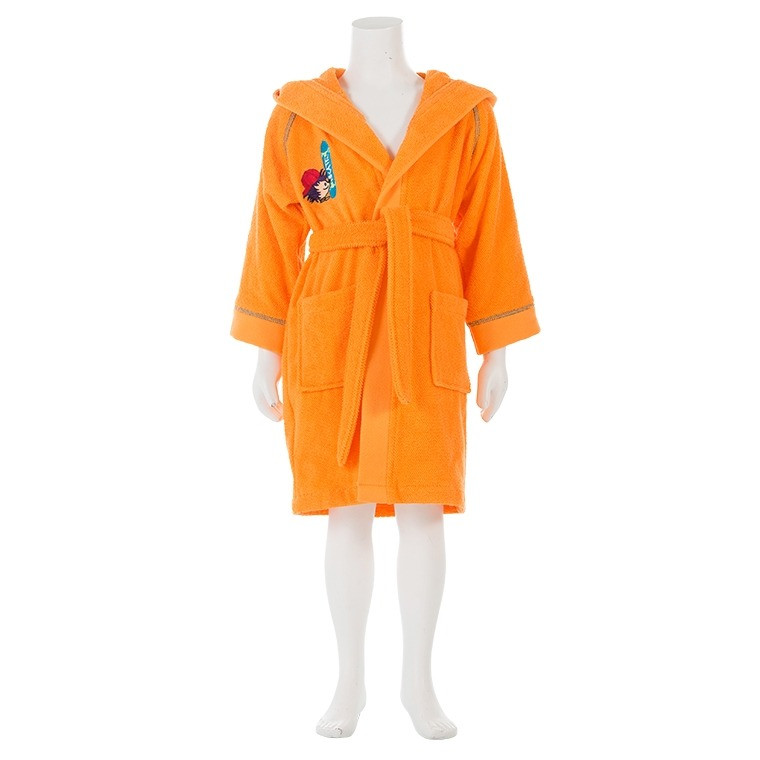 Peignoir enfant SIMEON ORANGE