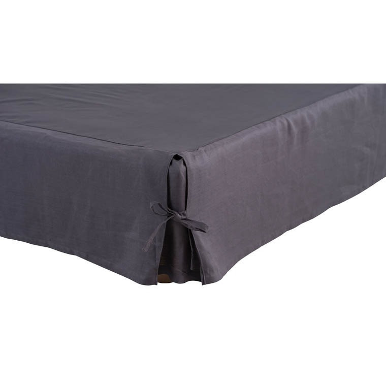 Cache sommier SONGE ANTHRACITE