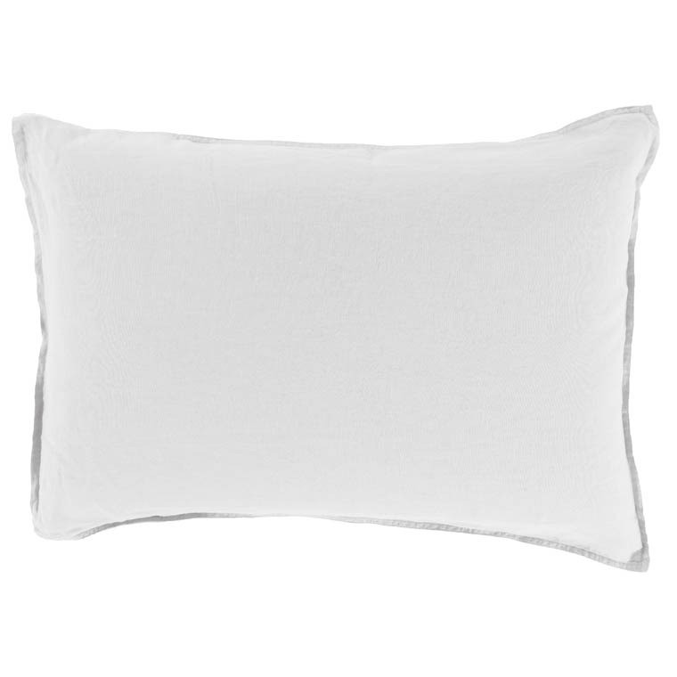 Taie d'oreiller rectangulaire SONGE BLANC