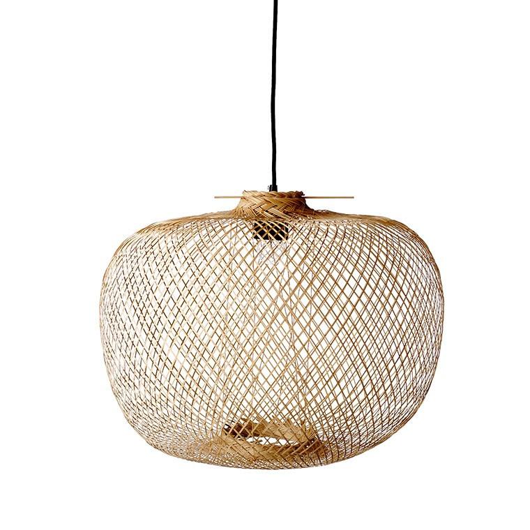 Suspension croisillon en bambou DECO