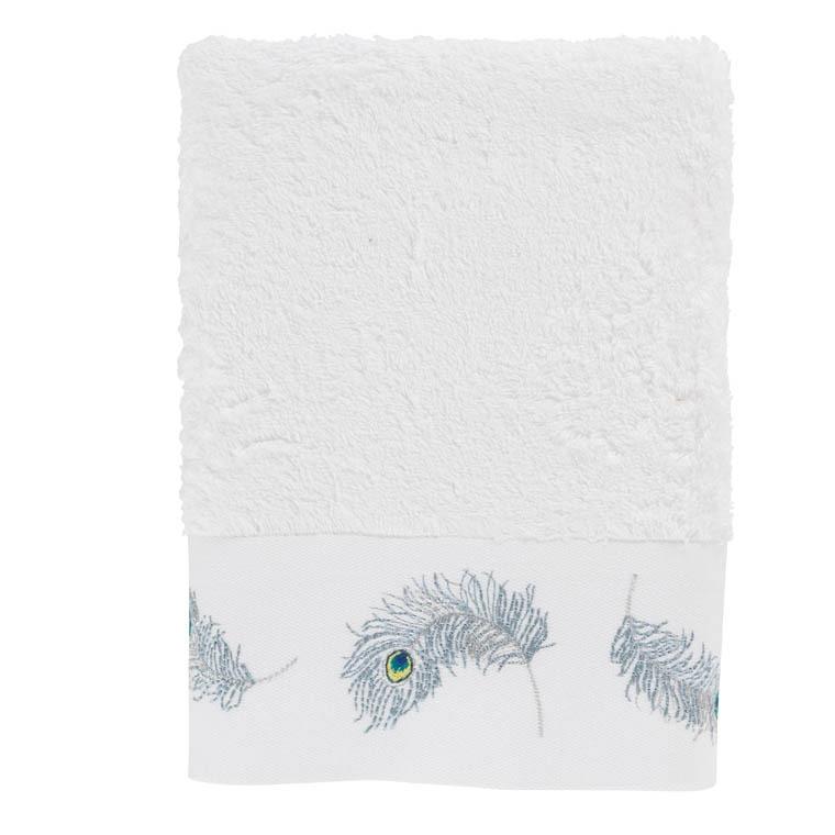 serviette de toilette utopie blanc carre blanc. Black Bedroom Furniture Sets. Home Design Ideas