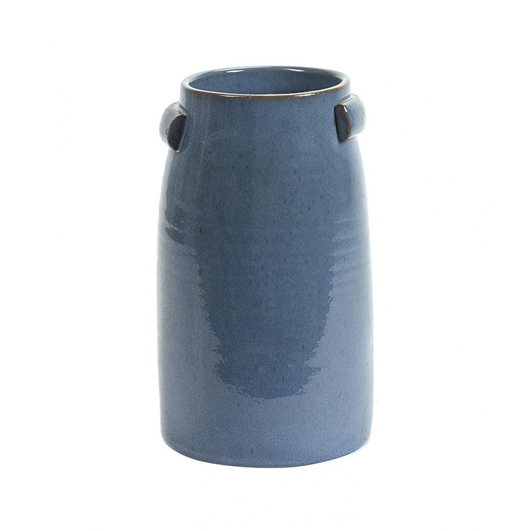 Vase en faïence DECO BLEU