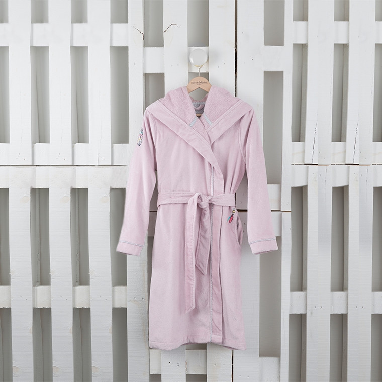 peignoir ado winona vieux rose carre blanc. Black Bedroom Furniture Sets. Home Design Ideas