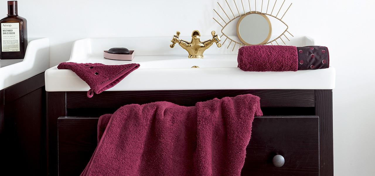 Parure de bain coton Anae
