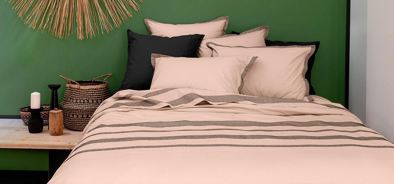Parure de lit percale de coton Havane exotique