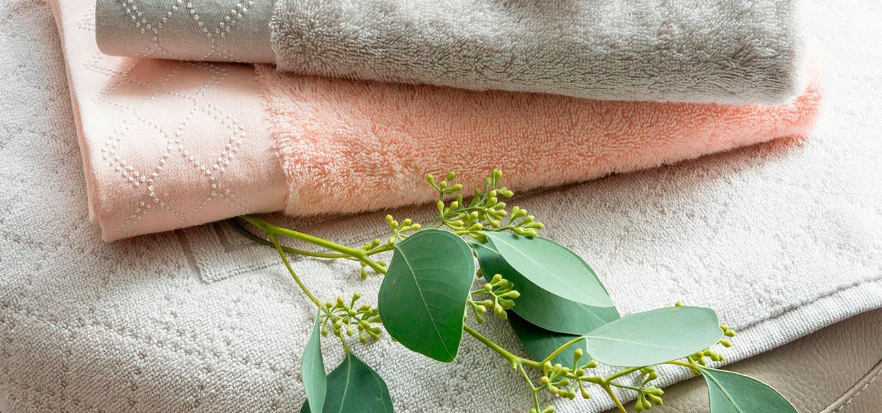 Parure de bain coton bambou HONOREE