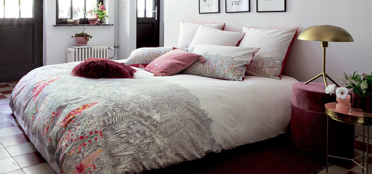 Parure de lit percale de coton IDYLLE