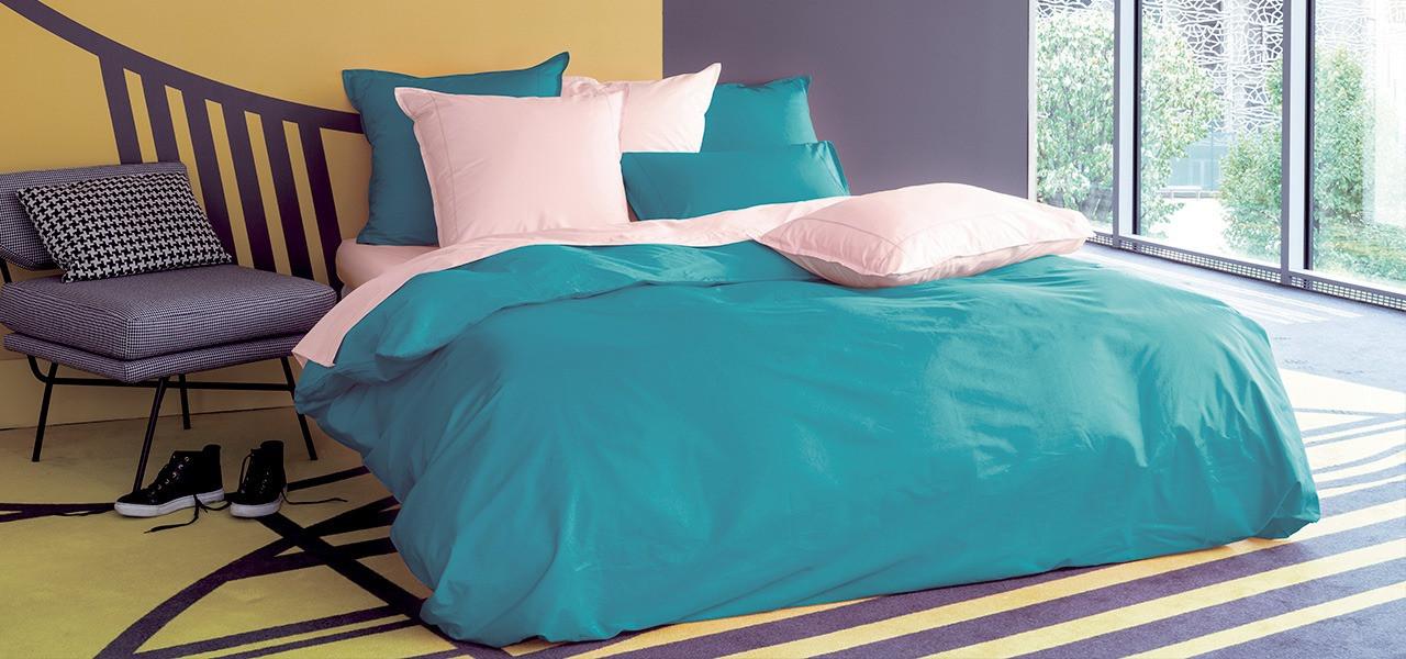 Parure de lit percale de coton NEO