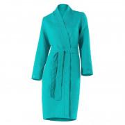 Peignoir femme coton Margaux vert