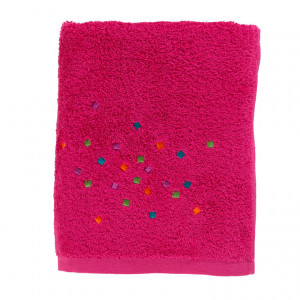 Drap de douche ARTIFICE FUSCHIA