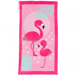 Serviette de plage enfant FLAMINGO