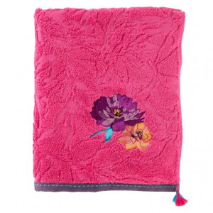 Drap de bain FLAVIE FUSCHIA