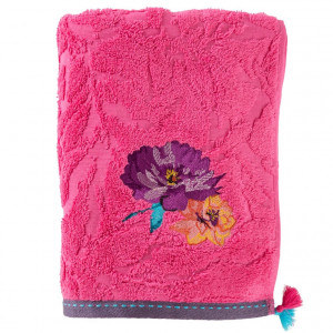 Drap de douche FLAVIE FUSCHIA