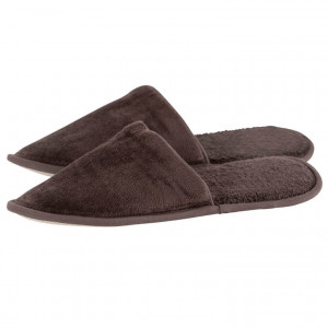 Chaussons mules homme LOLA EBENE