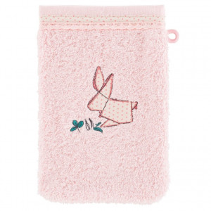 Gant de toilette LOUISE ROSE