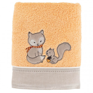 Serviette de toilette MAXOU ORANGE